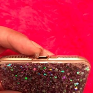 Accessories - NEW iPhone 7+/8+ Glitter & Sequins Case